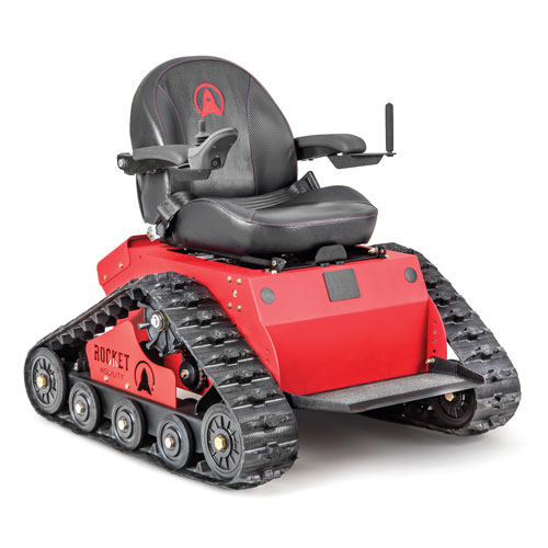 GO FAR, FAST With Rocket Mobility®u0027s All Terrain Tracked Wheelchairs